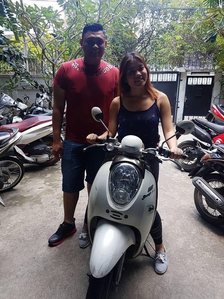 Rent Honda Scoopy