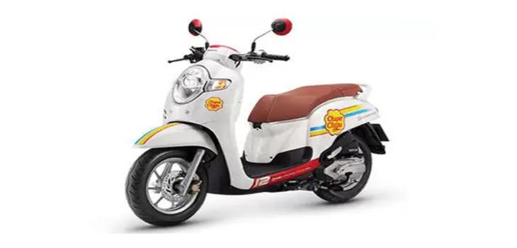 Rent Honda Scoopy in Bangkok