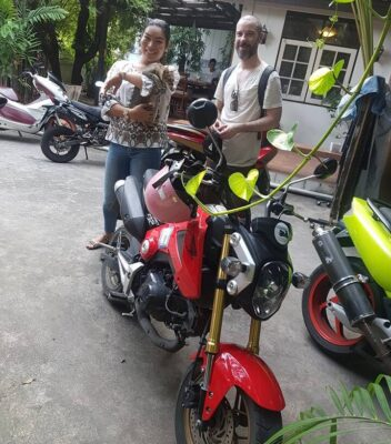 Rent Honda MSX